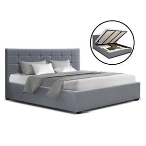 Artiss LISA King Size Gas Lift Bed Frame