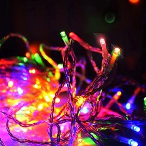Christmas String Lights 50m - Rainbow