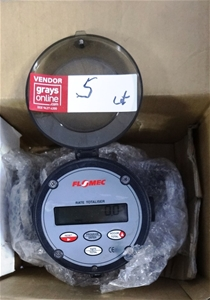 Flomec Oval Gear Meters, Good Condition