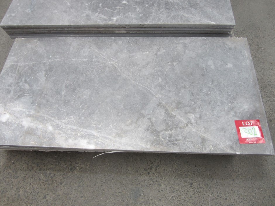 Marble Slabs. 1200mm x 600mm x 20mm. Sold individually.