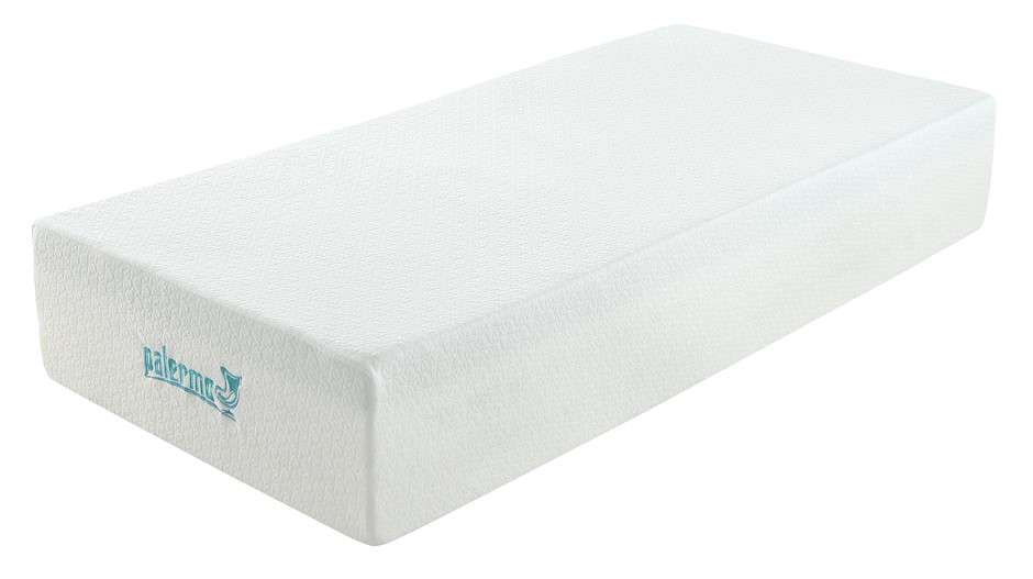 Palermo Single Mattress 30cm MemoryFoam Green Tea Infused CertiPUR Approved