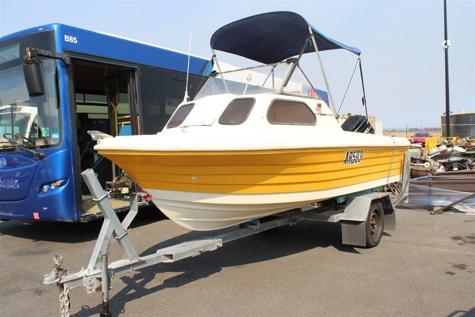 Sportscraft Diplomat 4.7M 50hp Mercury Boat