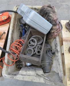 Box of assorted Air Lines Guages tools a