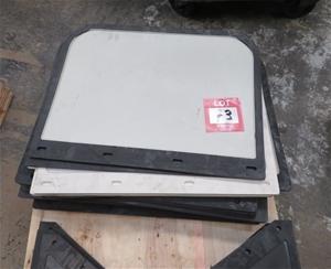 Assorted truck Mud flaps, 600 x 450, app