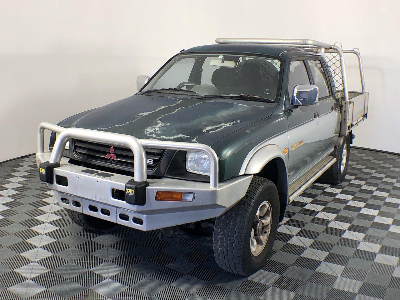 1999 Mitsubishi Triton GLS (4x4) MK Automatic Dual Cab