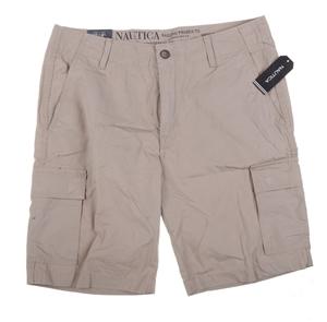 NAUTICA Men`s Cargo Short, Size 34, Cott