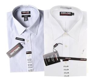 2 x Men`s SIGNATURE Long Sleeve Button U