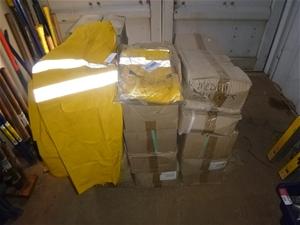 26 Cartons of PVC Wet Weather Coats 3/4