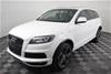 2012 (2013) Audi Q7 3.0 TDI quattro Turbo Diesel Auto 7 Seats Wagon