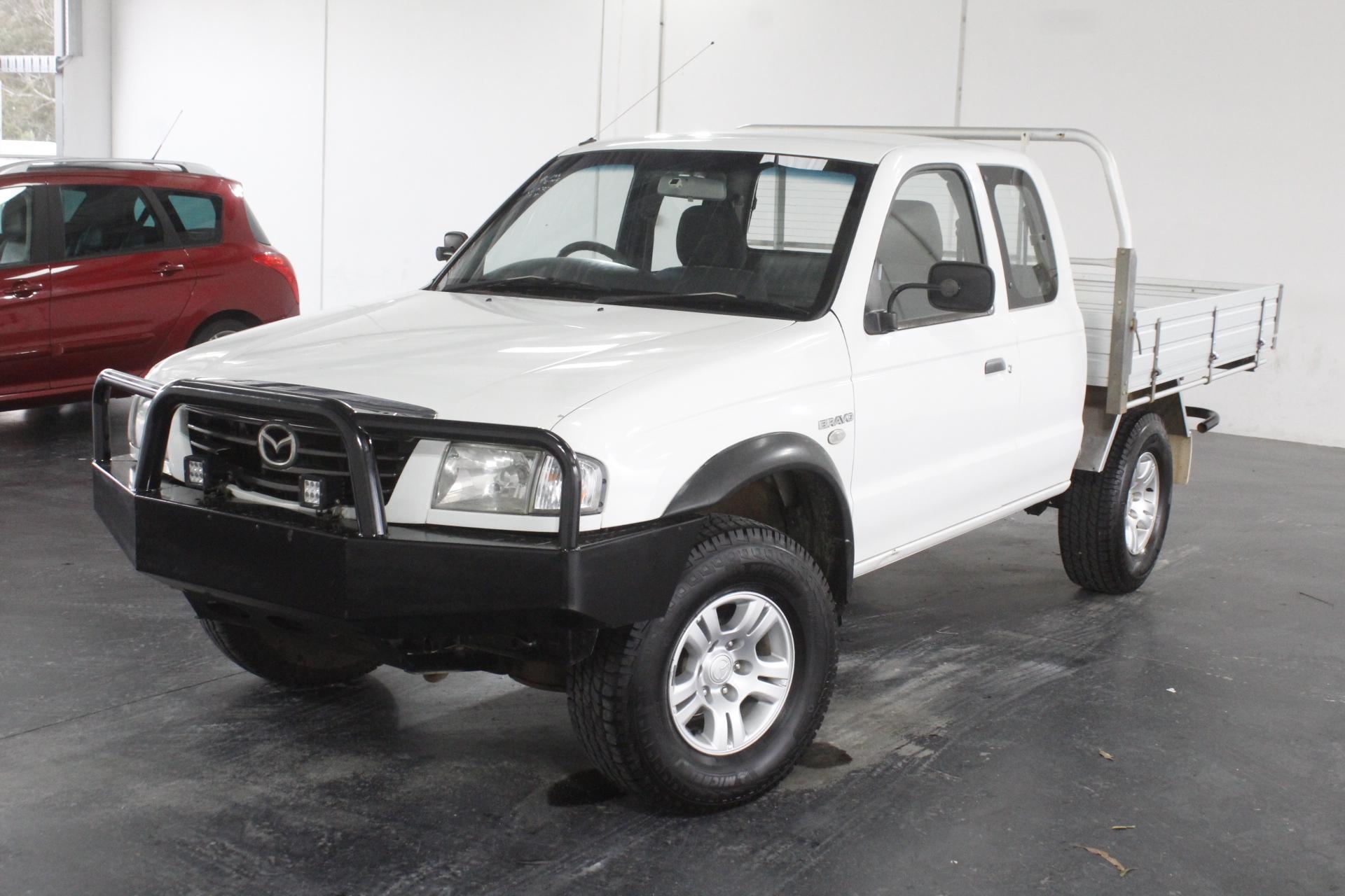 2005 Mazda B2500 Bravo DX (4x4) B2500 Turbo Diesel Manual Ute