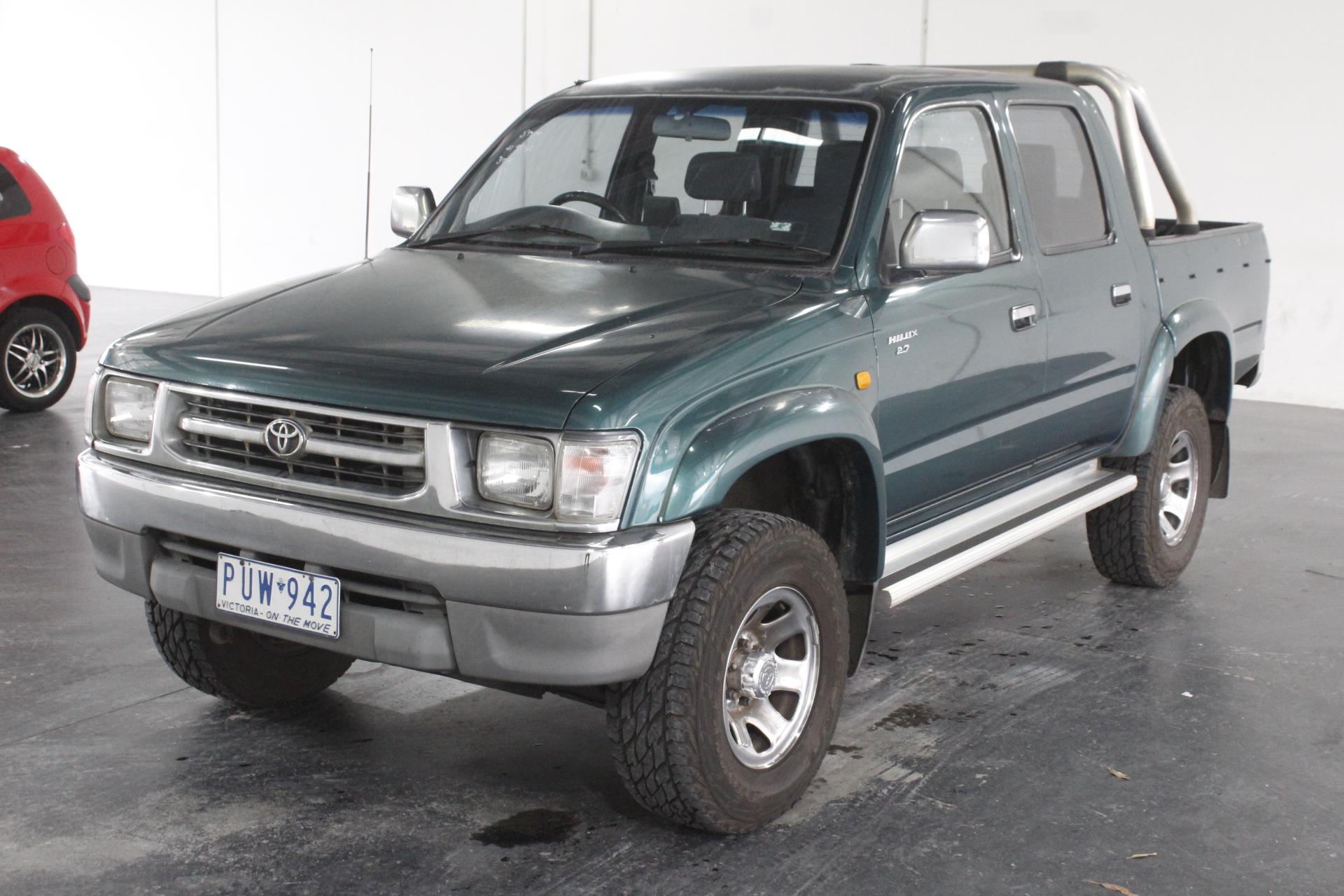 1999 Toyota Hilux (4x4) Manual Dual Cab
