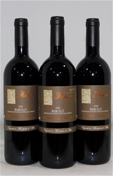 Parusso Le Coste Mosconi Barolo 2008 (3x 750mL)