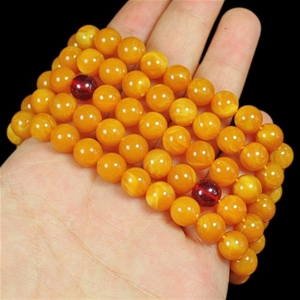 Genuine Amber Beaded Bracelet / Necklace