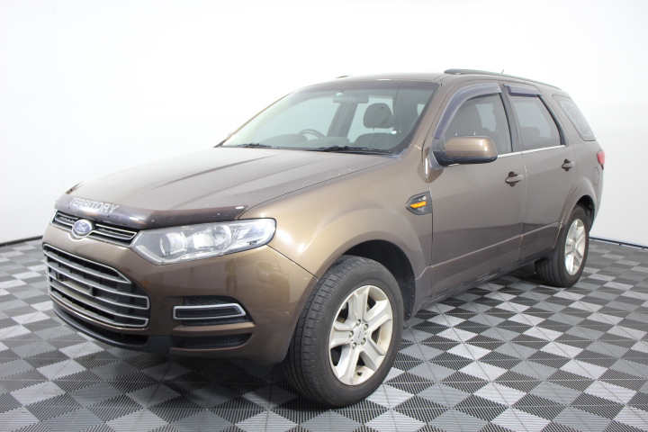 2013 Ford SZ Territory 2.7 V6 T/Diesel 6 Speed Auto (Service History)