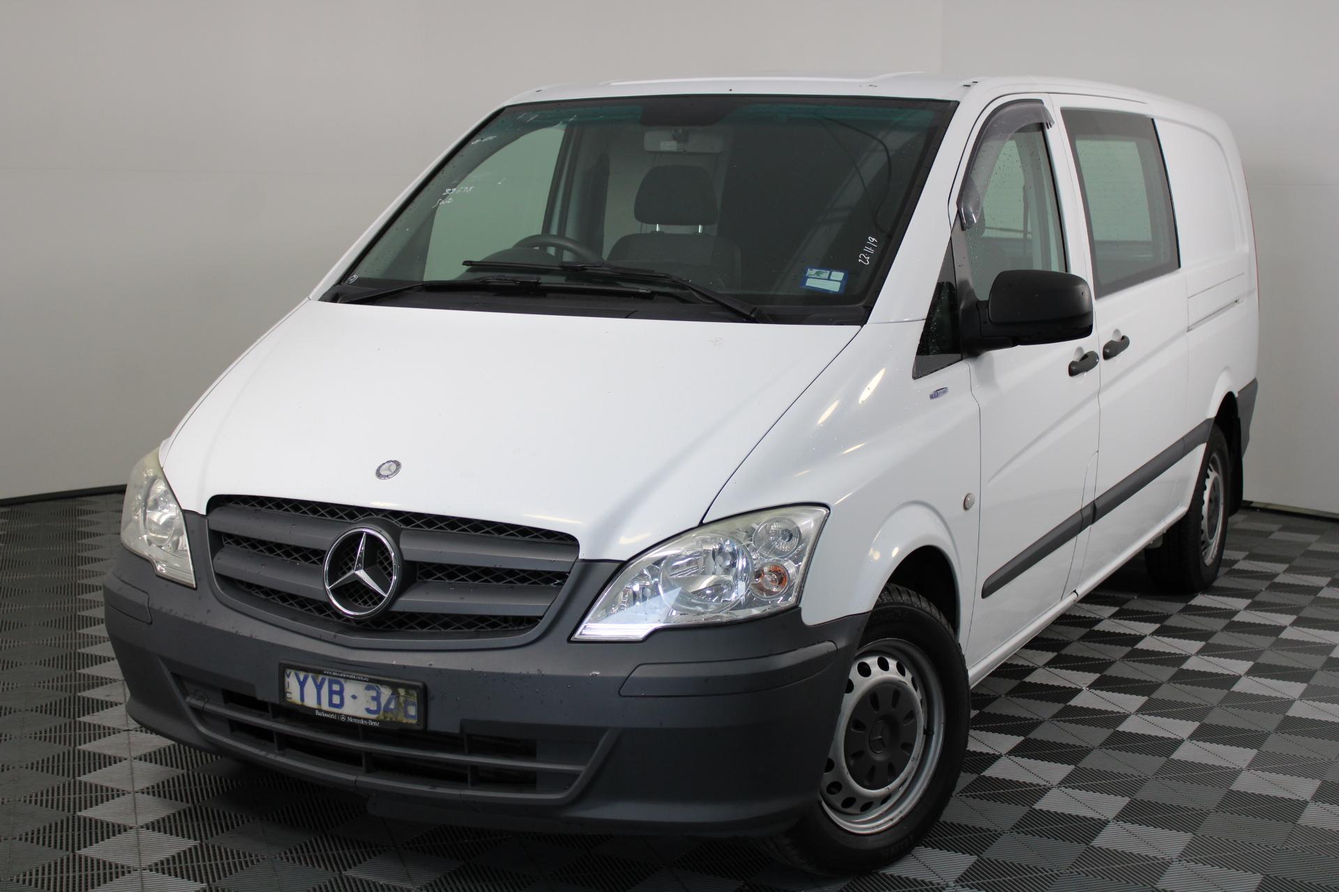 2011 Mercedes Benz Vito 113CDI LWB Turbo Diesel Automatic Van