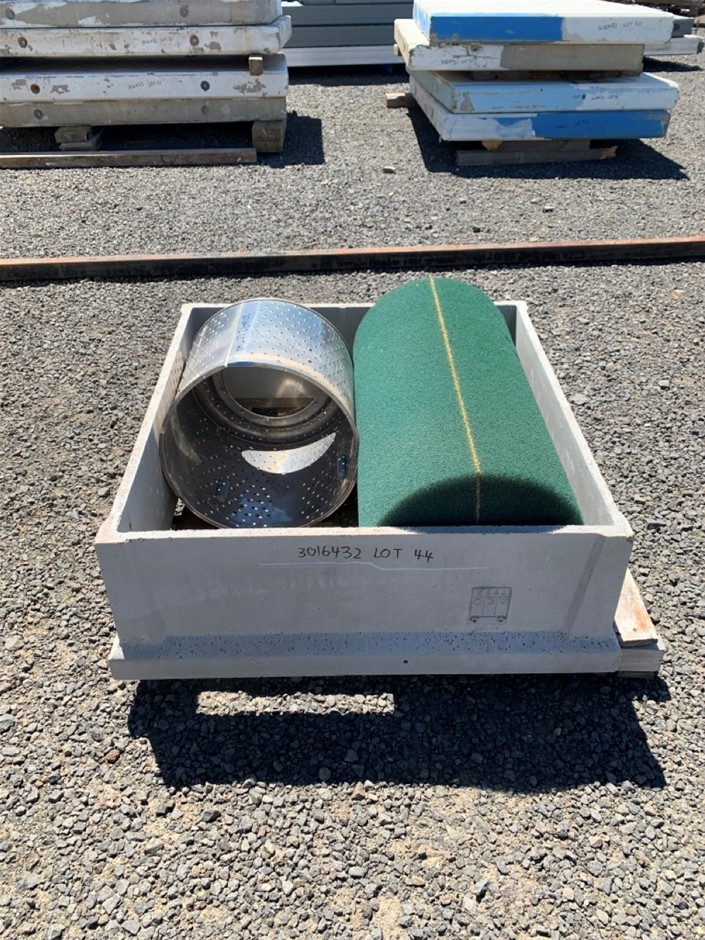 Concrete Culvert and Assorted Filters