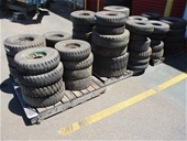 Unreserved Assorted Truck & Forklift Tyres