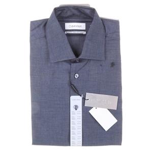 CALVIN KLEIN Men`s Cotton Slim Fit Dress