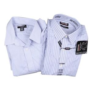 2 x Men`s SIGNATURE Custom Fit Button-up