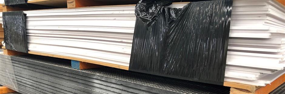 New PVC Foam Boards, 2400 x 1220, 31 sheets of 10mm