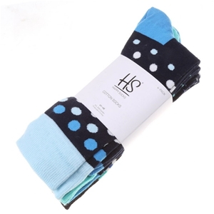 Pack of 4 x HAPPY SOCKS Men`s Socks, Siz