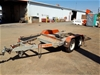 Plant trailer - suit skid steer loader