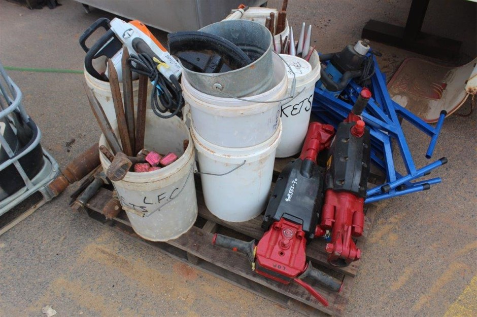 1 Pallet of Various Tools & Equipment