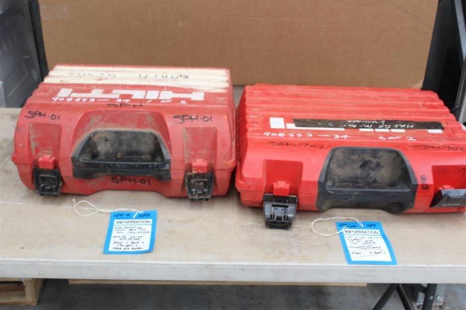 Hilti Laser Level and Cordless Hammer Drill