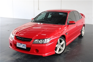 2002 Holden Commodore SV8 Y Series Manua