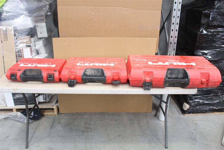 Assorted Hilti Fired Equipment