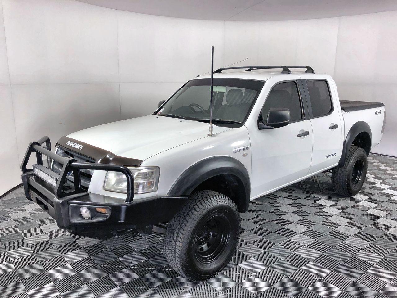 2007 Ford Ranger XL (4x4) PJ Turbo Diesel Dual Cab Chassis, 111,575km