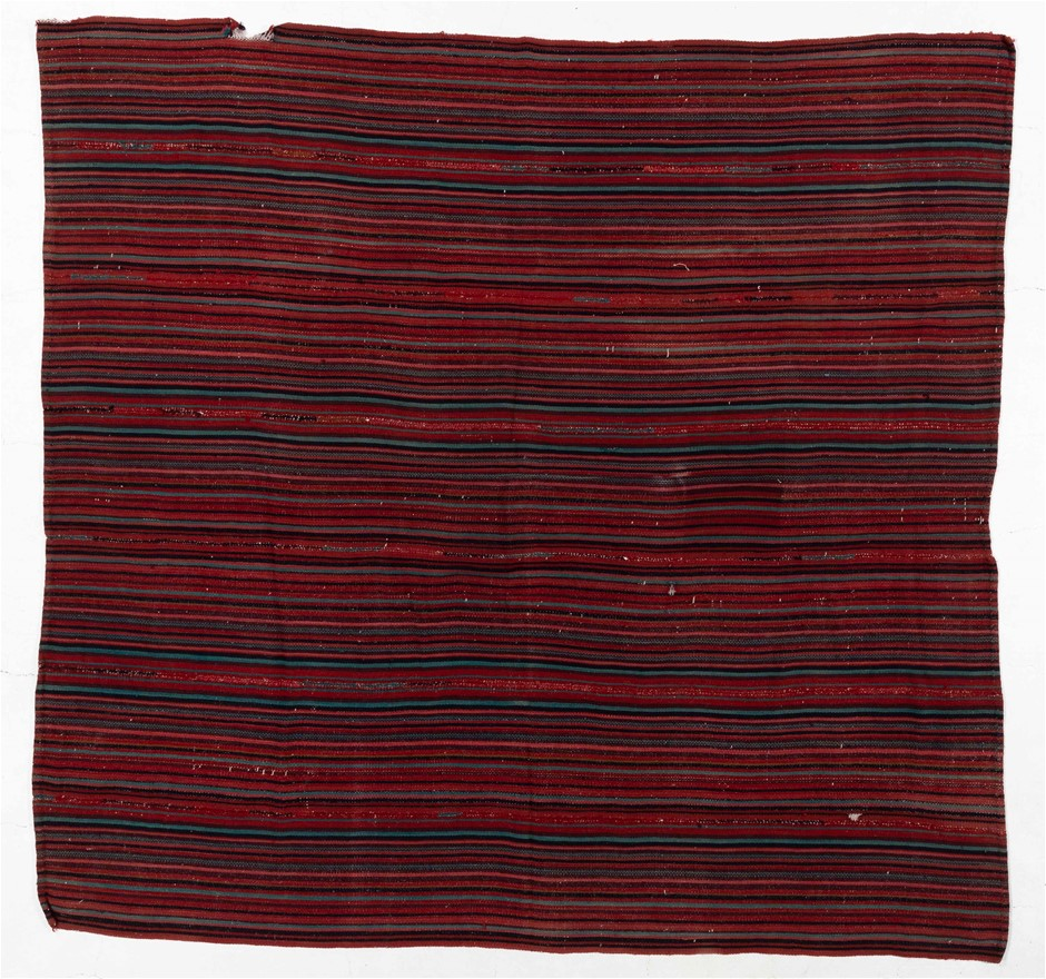 Persian Jajim Blanket/Textile Hand Knotted Pure Wool Size (cm): 240 x 240