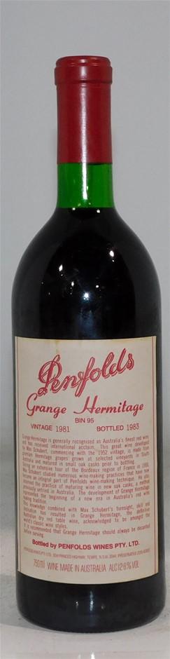Penfolds Grange Hermitage 1981 (1x 750ml)