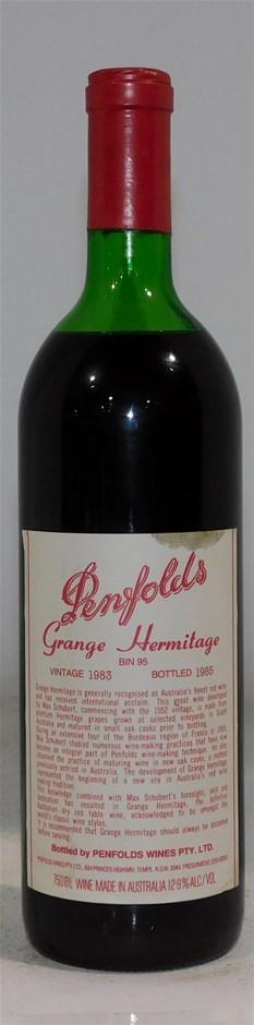 Penfolds Grange Hermitage 1983 (1x 750ml)