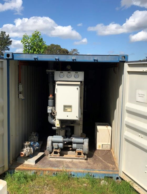 Ultra Filtration System Model MU-24-8 series