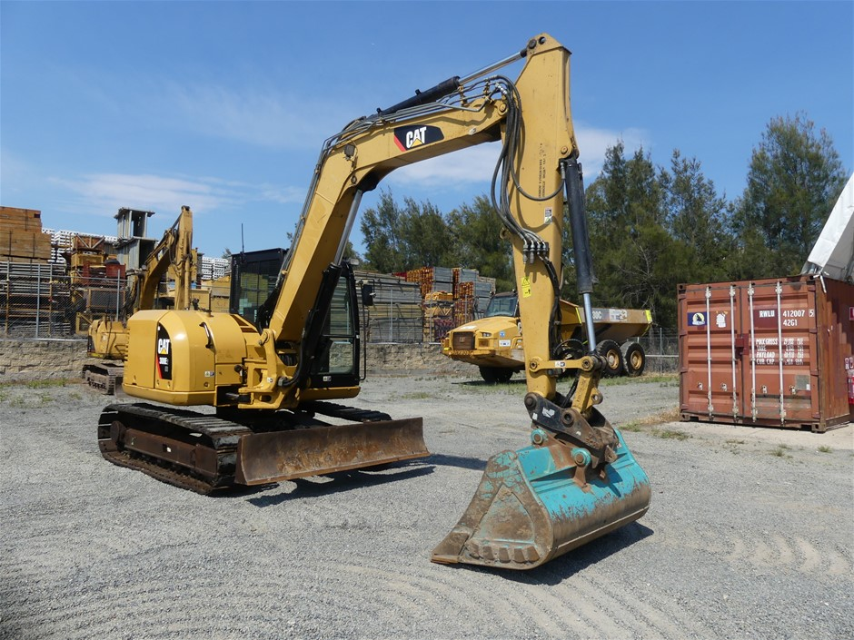 Caterpillar 308E2CR Hydraulic Excavator