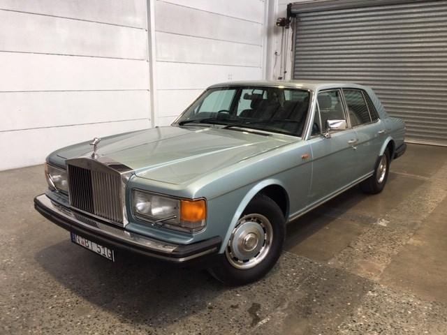 1981 Rolls Royce Silver Shadow RWD Automatic Sedan