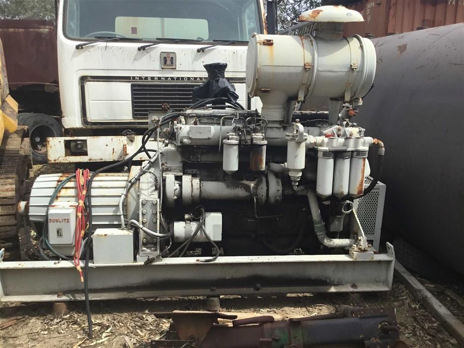 Dormann Dunlite DRDABMF 150kVA Generator