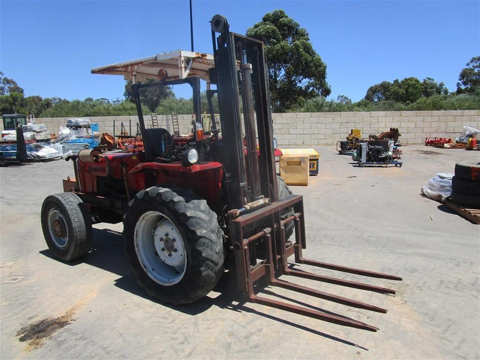 Massey Ferguson 254 4WD Rough Terrain Forklift