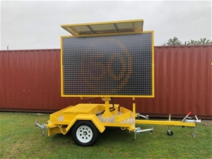New 2019 Variable Message Sign (VMS) Sig