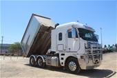 Unreserved 2013 Freightliner Argosy 6 x 4 Tipper Truck