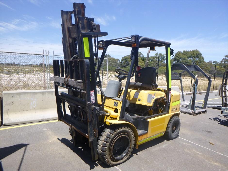 2011 Hyundai 30D-7E 3T 3.0m Diesel Forklift (Location: Jandakot)
