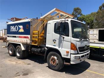 2007 Hino FM1J 6x4 Water Truck