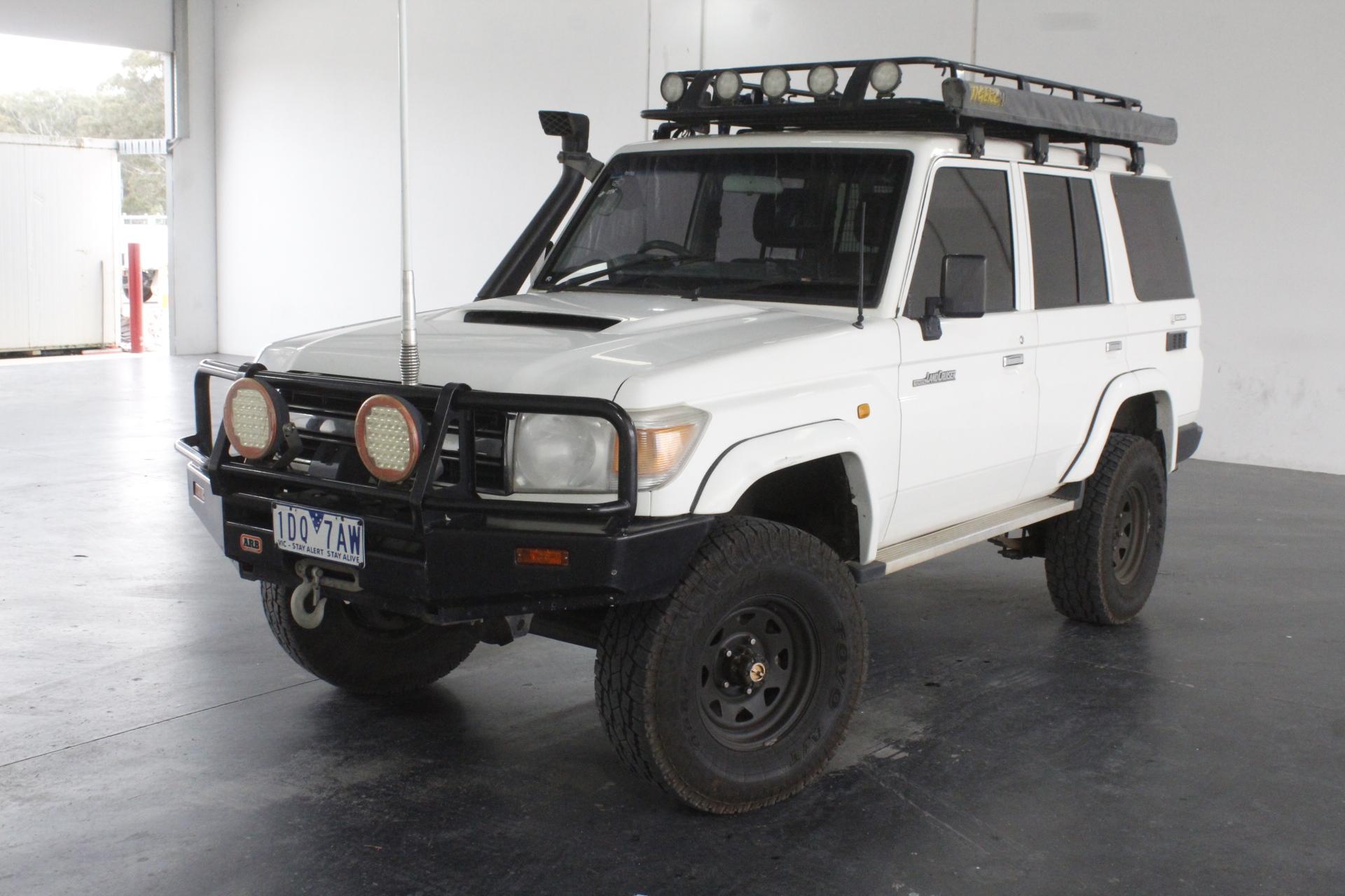 2010 Toyota Landcruiser Workmate (4x4) VDJ76R Turbo Diesel Manual Wagon