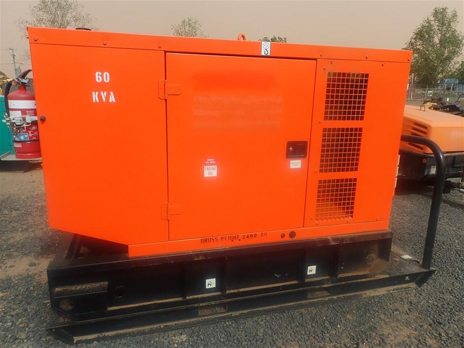 Ingersol Rand G66 generator