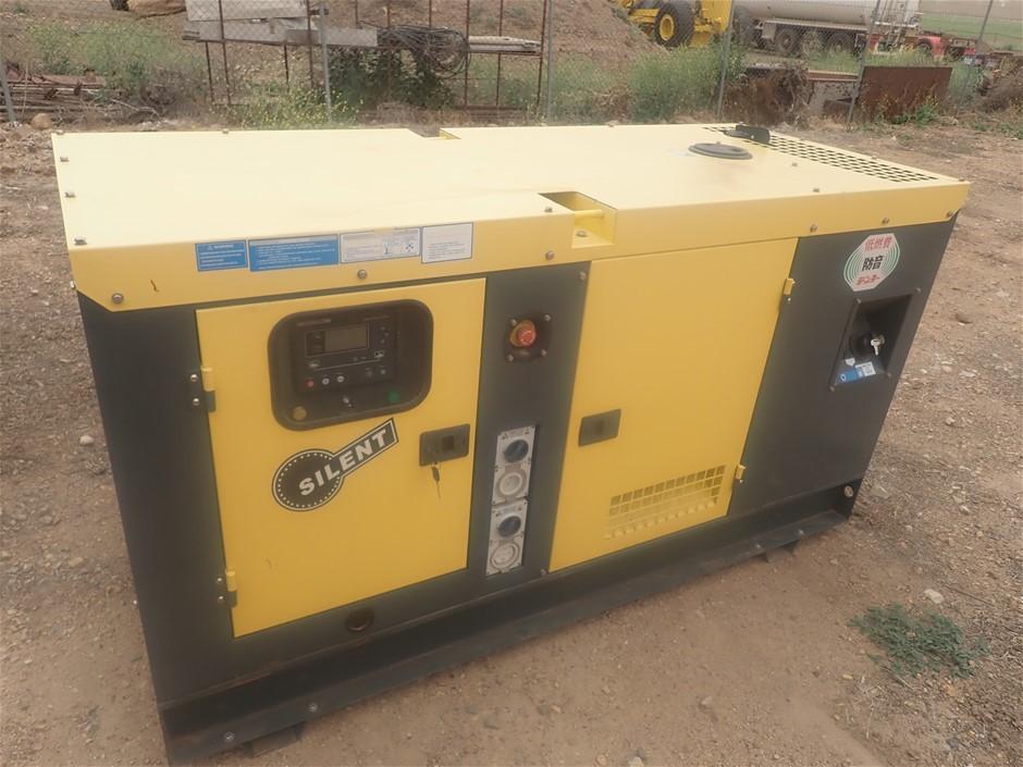 Ashita AG3-50SBG, 40KVA generator