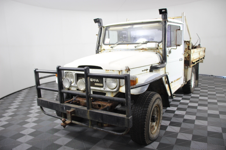 1979 Toyota Landcruiser HJ45 Manual Cab Chassis