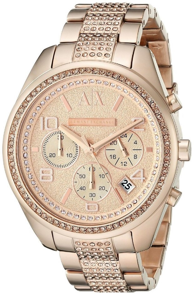 WOW! Stunning new Armani Exchange Sarena Rose Gold-plated Watch