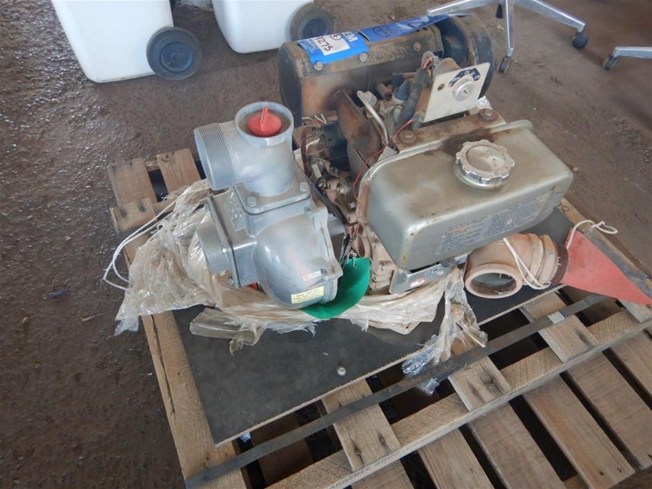 Kubota QP303 Diesel Drive Pump