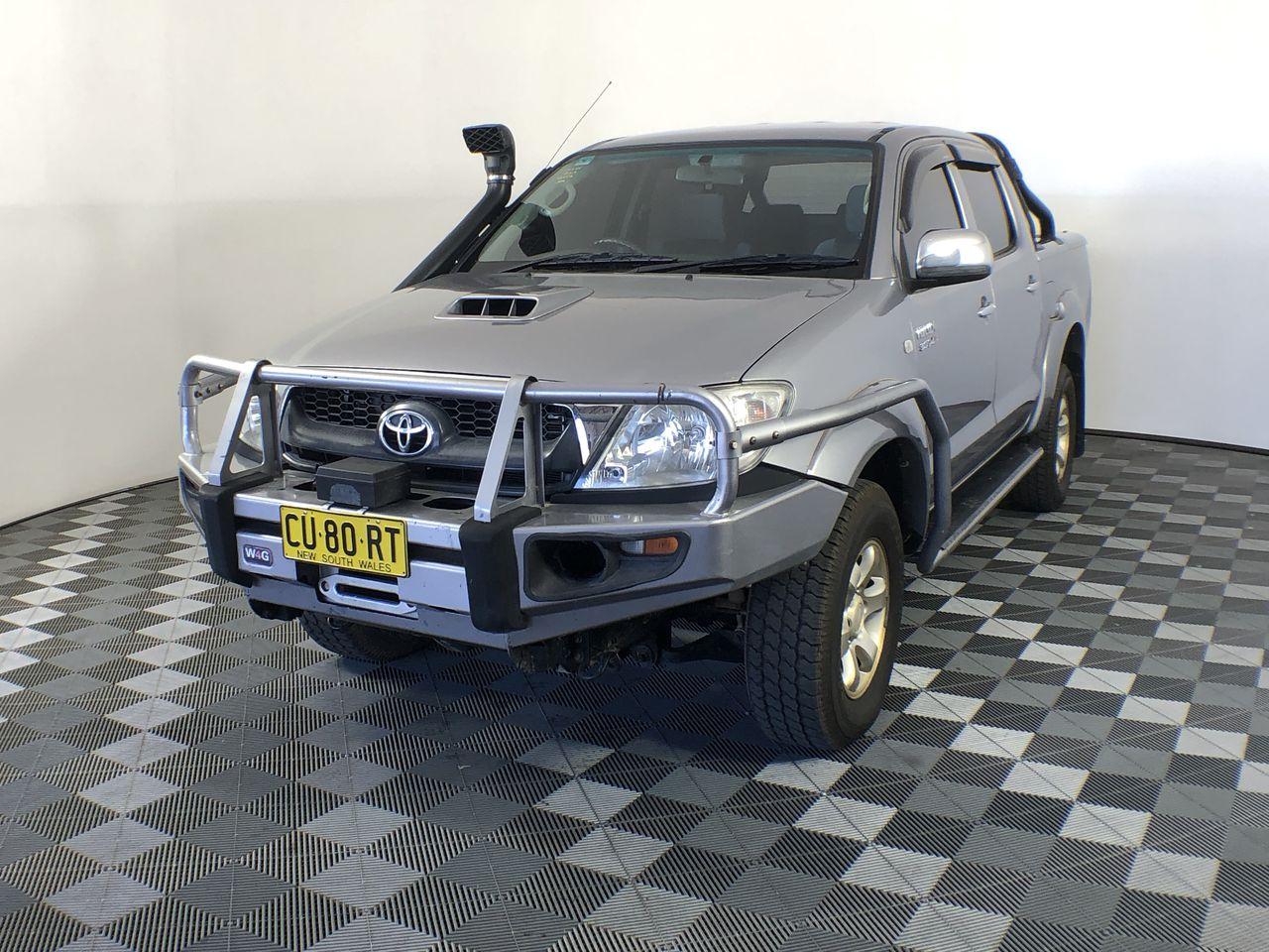 2008 Toyota Hilux SR (4x4) KUN26R Turbo Diesel Manual Dual Cab